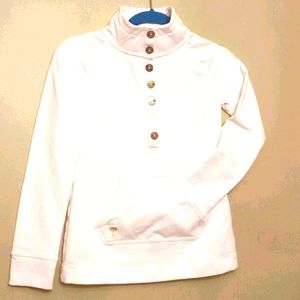 Like New Lilly Pulitzer White Pullover Top XXS